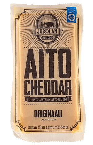 Aito Cheddar Originaali pakkaus