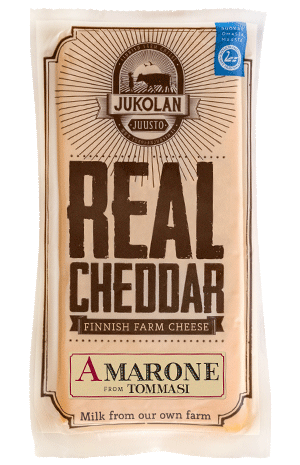 Real Cheddar with Amarone package