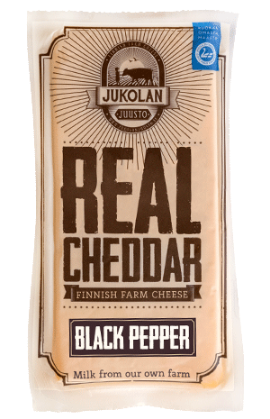 Real Cheddar with Black Pepper