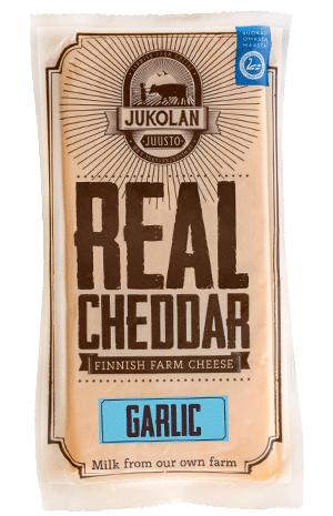 Real Cheddar with Garlic