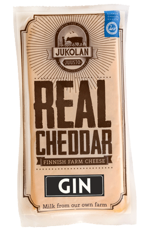 Real Cheddar with Gin package