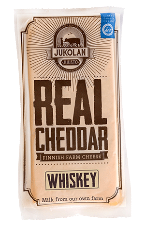 Real Cheddar Whiskey package