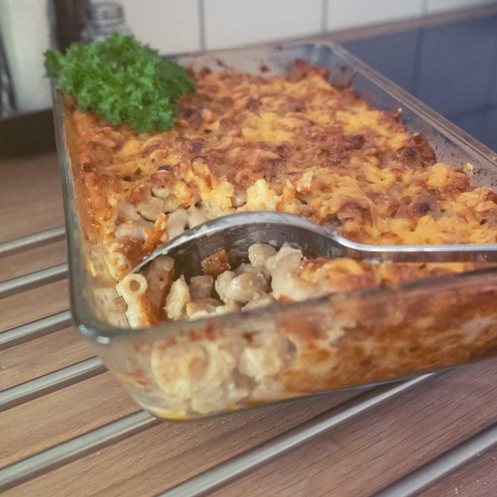 mac and cheese, Eli juustomakaronin valmistuskuva vuoasta